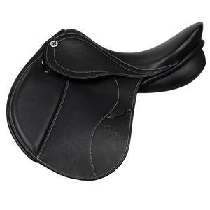 Philippe Fontaine Jumping Saddle Junior Lamotte schwarz