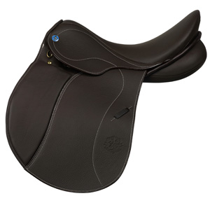 Philippe Fontaine All purpose saddle Deauville choco