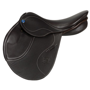 Philippe Fontaine Jumping saddle Lyon choco