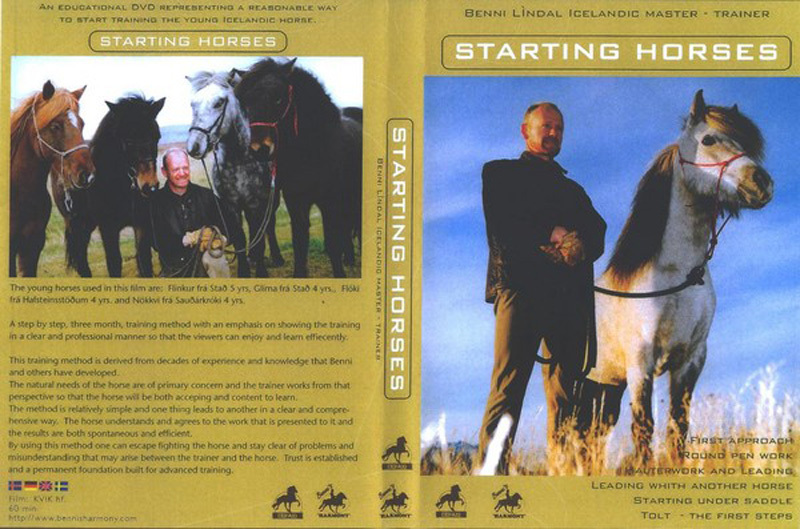 Stübben DVD Starting Horses