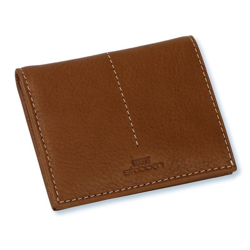 Stübben Kleine Brieftasche mit Reißverschluss