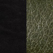 schwarz/oliv